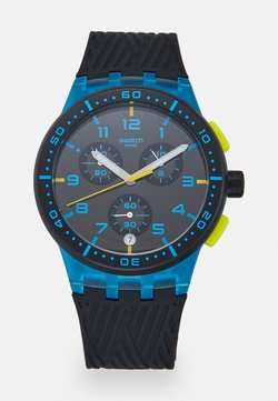 Swatch - YELLOW TIRE - Montre à aiguilles - blue