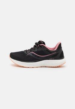 Saucony - HURRICANE 23 - Zapatillas de running estables - black/rosewater