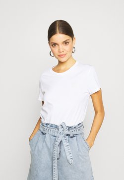 Levi's® - THE PERFECT TEE - T-Shirt basic - left chest white