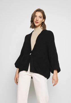 Monki - NALA CARDIGAN - Cardigan - black dark