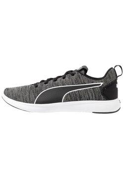 Puma - SOFTRIDE VITAL CLEAN - Zapatillas de entrenamiento - black/ultra gray/white