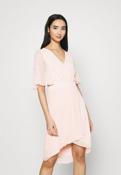 Vila - VIRILLA 2/4 SLEEVE DRESS - Vestido de cóctel - rose smoke