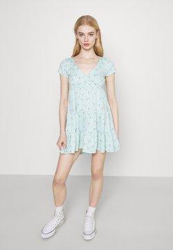 Hollister Co. - SHORT DRESS - Vestido ligero - mint