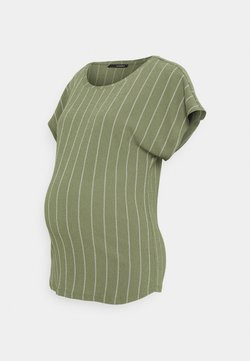 Supermom - TEE TRIPE - T-Shirt print - dusty olive