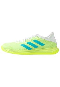 adidas Performance - ADIZERO FASTCOURT  - Zapatillas de balonmano - sigal green/signal cyan/footwear white