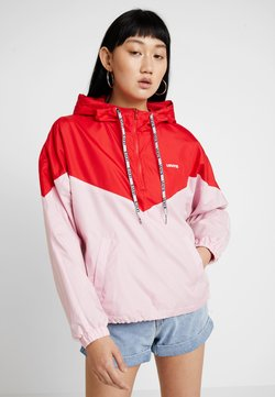 Levi's® - KIMORA JACKET - Windbreaker - raglan pink lady/brilliant red