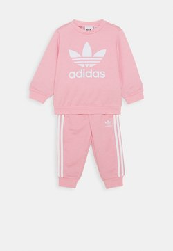 adidas Originals - CREW SET UNISEX - Trainingspak - light pink/white