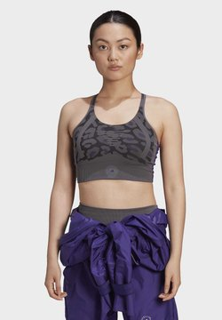 adidas by Stella McCartney - ADIDAS BY STELLA MCCARTNEY TRUEPURPOSE SEAMLESS LIGHT - Sport BH - grey