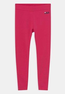 Fila - TIFFY LOGO UNISEX - Leggings - bright rose