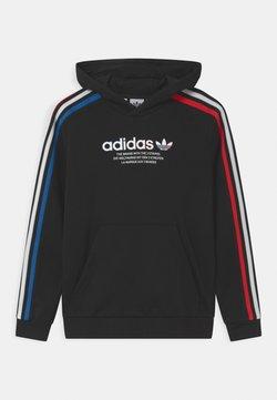 adidas Originals - HOODIE UNISEX - Collegepaita - black