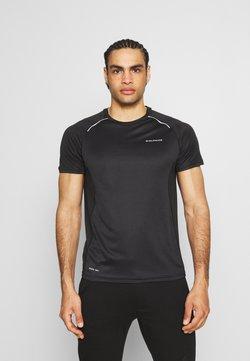 Endurance - LASSE TEE - Camiseta estampada - black