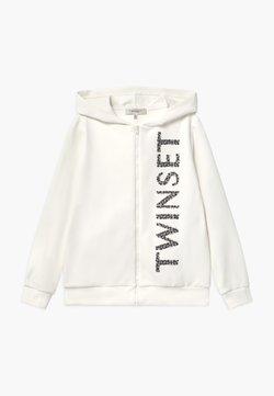 TWINSET - MAXI CAPPUCCIO - Vest - off white