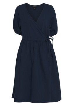 Monki - RAMONA DRESS - Day dress - blue medium dusty