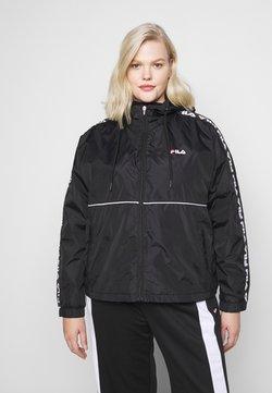 Fila Plus - TATTUM WIND JACKET - Leichte Jacke - black/bright white