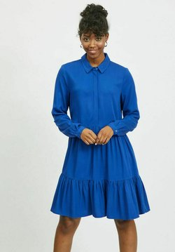 Vila - VIMOROSE DRESS - Vestido camisero - mazarine blue