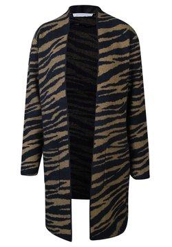 Rino&Pelle - NAREL - Strickjacke - camel zebra