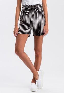 Cross Jeans - Shorts - black-white