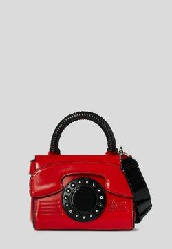 KARL LAGERFELD - TELEPHONE  - Käsilaukku - red, white, black