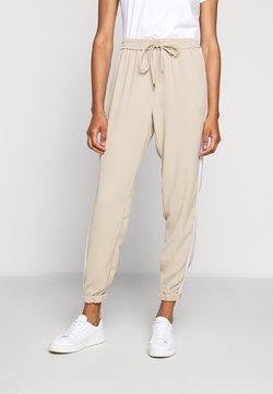 MICHAEL Michael Kors - STRIPE TRACK PANT - Spodnie materiałowe - khaki