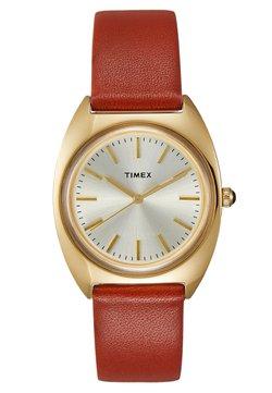 Timex - MILANO CASE DIAL STRAP - Montre - burgundy