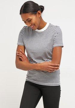 Selected Femme - SFMY PERFECT TEE BOX CUT - T-Shirt print - peacoat