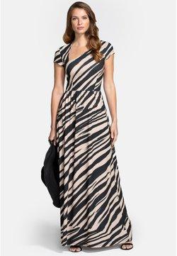 HotSquash - ASYMMETRIC NECKLINE - Maxikleid - animal stripe