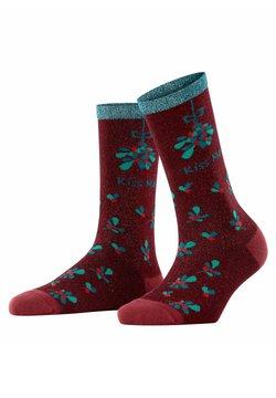 Burlington - KISS MAS - Socken - mahogany