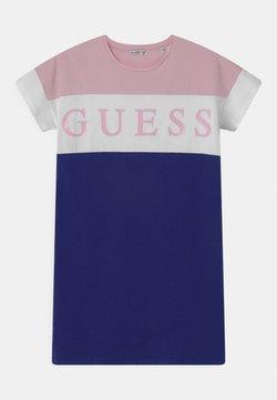 Guess - JUNIOR - Jerseykleid - pink/white