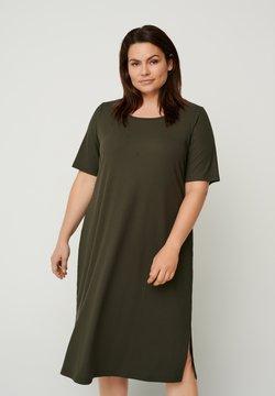 Zizzi - Vestido de punto - green