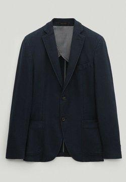 Massimo Dutti - Giacca - blue-black denim
