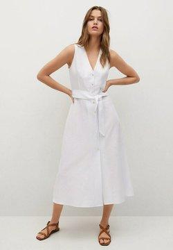 Mango - Sukienka koszulowa - white