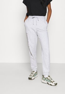 American Eagle - INTERNATIONAL BRANDED JOGGER - Jogginghose - heather gray