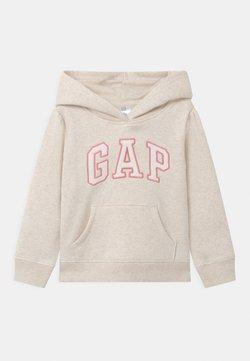 GAP - TODDLER GIRL LOGO  - Huppari - mottled beige