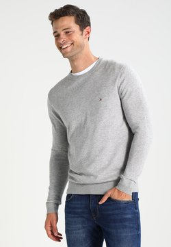 Tommy Hilfiger - C-NECK - Strickpullover - cloud heather