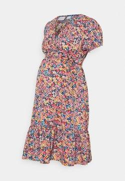 MAMALICIOUS - MLTENNA TESS DRESS - Vestido informal - blue/pink/orange