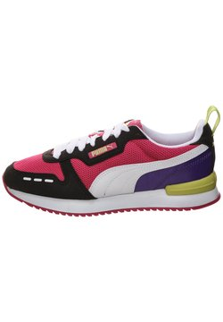 Puma - R78 UNISEX - Sneaker low - beetroot purple / puma black / puma white