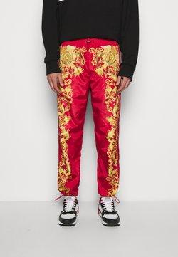 Versace Jeans Couture - PRINT BAROQUE - Jogginghose - red