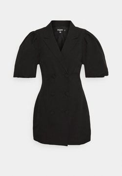 Missguided Petite - PUFF BLAZER DRESS - Cocktail dress / Party dress - black