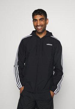 adidas Performance - ESSENTIALS SPORTS JACKET - Chaqueta de entrenamiento - black/white