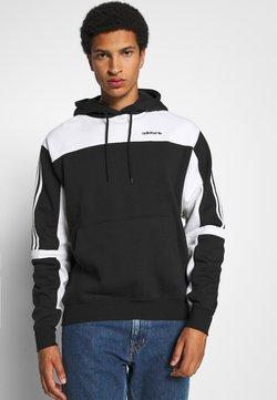 adidas Originals - CLASSICS HOODY - Kapuzenpullover - black/white