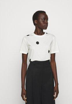3.1 Phillip Lim - DOTTED PRINT - T-Shirt print - white/black