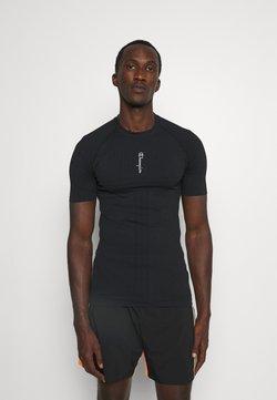 Champion - CREWNECK - T-shirt con stampa - black