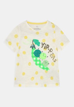 Marks & Spencer London - YIP PEAS TEE - T-shirt con stampa - white