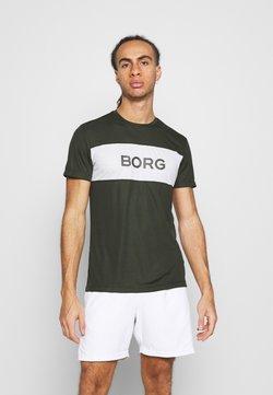 Björn Borg - ATOS TEE - T-Shirt print - rosin