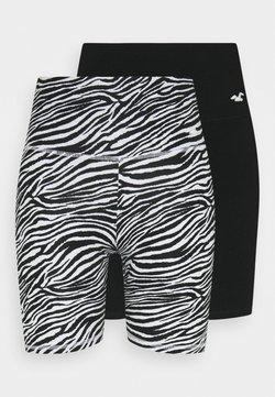 Hollister Co. - BIKE 2 PACK - Shorts - black