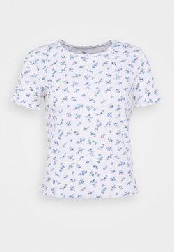 Hollister Co. - LETTUCE BABY TEE - T-Shirt print - white