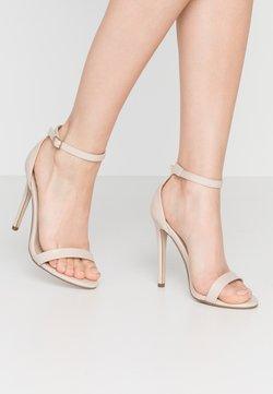 Missguided - BASIC BARELY THERE - Korolliset sandaalit - nude