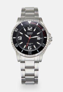 Casio - Uhr - silver/black