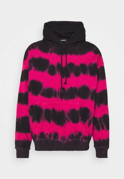 Diesel - UMMER UNISEX - Sweatshirt - black/pink