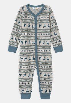 Joha - JUMPSUIT UNISEX - Pyjama - light blue/off-white